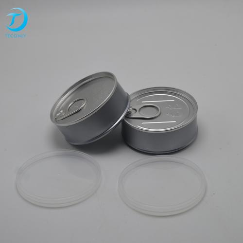 65*27.5mm Best Quality Easy Ring Pull Type Aluminum Can Easy Open Tins